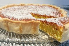 Receitas de pecados no prato: Tarte de coco e leite condensado