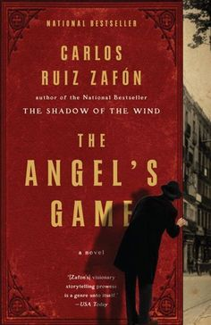 The Angel's Game - Carlos Ruiz Zafon. I think it is one of my favorite books ever! Seriously it is that good!!! Read in January. Translated book