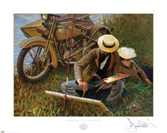 """Homage to a Master"" by David Uhl"