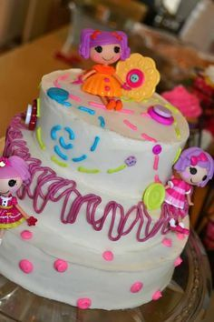 easy lalaloopsy cakes | Lalaloopsy Cake