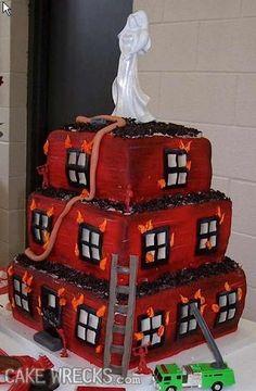 Consider, Broke ass bride cake wrecks