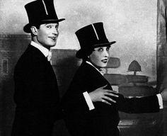 Maurice Chevalier and Mistinguett