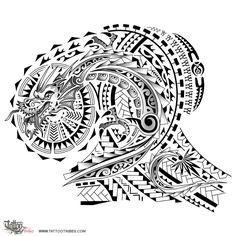 Tatuaggio di Dragone, Combattente tattoo - custom tattoo designs on TattooTribes.com