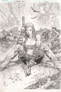 Marc Silvestri is still awesome. Aphrodite X here proves that.
