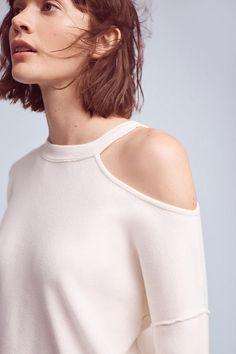 Slide View: 3: Eleywyn Open-Shoulder Pullover