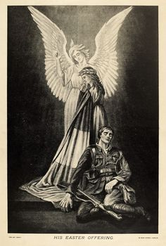 His Easter Offering - Taisclann Dhigiteach na hÉireann Ireland 1916, Easter Rising, The Unit, Digital, English, Peace, Painting, Stars, Free