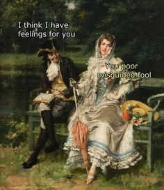 Top 18 Funny Painting Memes CollectionMemes have revitalized some classical art pieces from back in the day. Please enjoy this massive dump of hilarious captions and beautiful art. Renaissance Memes, Medieval Memes, Worlds Funniest Memes, Memes Humor, Funny Memes, Funny Videos, Funny Quotes, Art History Memes, Funny History