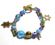 Evil Eye Bracelet-Star of David jewelry