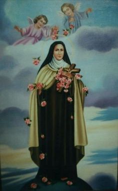 Святая Тереза (холст,масло)-художник Ядвига Сенько
