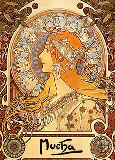 Mucha. Love this artist