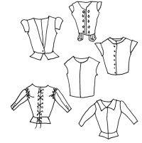 Scottish Patterns: Vest/Doublet/Jerkin Pattern
