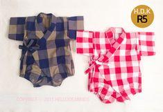 kids sewing pattern pdf Kimono suit Toddler von hellodearkids
