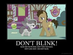 Don't Blink! YES!