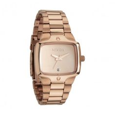 nixon rose gold small player