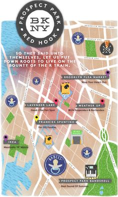 Prospect Park & Red Hook   Brooklyn Hipster Heat Map   Refinery29