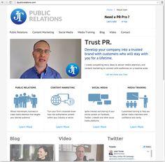 Website JT Public Relations