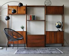 SOLD * Mid Century Danish Modern Modular Wall Unit by Ello/Large Mid Century Room Divider/Cado Style Wall Shelving System/Room Divider