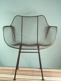 Biscayne Wire Chair by upriverhome.com