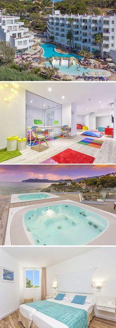 Fergus Style Cala Blanca Suites is een viersterren hotel dat wordt omgeven door diverse baaien. Het ligt direct aan een klein zandstrandje op het Spaanse eiland Mallorca. Geniet met het hele gezin van een onbezorgde familievakantie dankzij het brede aanbod aan faciliteiten.