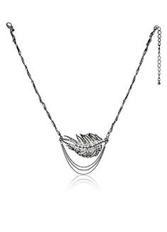 Love this!! Feathers are so in right now!  free shipping!  749595 - PERSONAL ACCENTS® Polly Necklace
