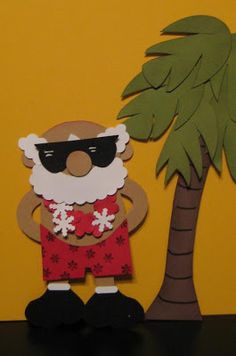 Blinkin', Thinkin', & Inkin': Santa Series Number 8 - On Vacation