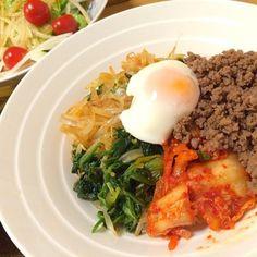 今夜は韓国料理! - 22件のもぐもぐ - 簡単ビビンバ丼 by yukiyoshiks9I