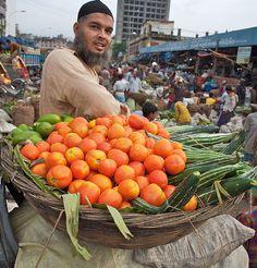 Dhaka Food market, Bangladesh