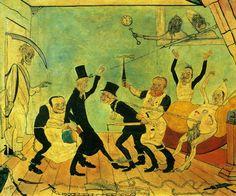 Los doctores malvados 1892  James Ensor