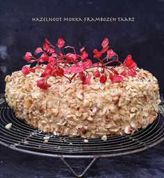 Basket Delights - hazelnoot mokka taart