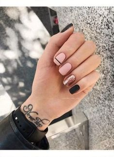 40 trendy stunning manicure ideas for short acrylic nails design 25 - . 40 trendy stunning manicure ideas for short acrylic nails design 25 - Cute Acrylic Nails, Acrylic Nail Designs, Nail Art Designs, Nails Design, Shellac Nail Designs, Gel Designs, Stylish Nails, Trendy Nails, Elegant Nails