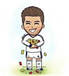 Laughing too much at this....Sergio and his cards....he really is a great center back despite his card magnet nature ;)