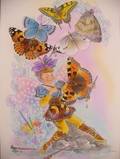 © Christl Vogl- Die Schmetterlings-Elfen