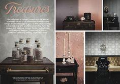 BN Wallcoverings Treasures www.behangwereld.nl