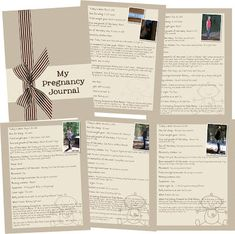 Do it yourself pregnancy and baby journal pinterest journal great idea to do a pregnancy journal by rochelle gould solutioingenieria Gallery