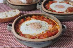 Con sabor a huerto: Huevos a la flamenca
