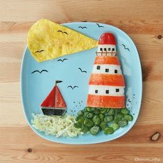 Lighthouse! #leesamantha #foodart