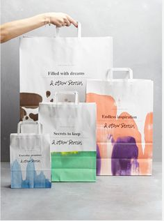 AND OTHER STORIES BAGS WATERCOLOUR