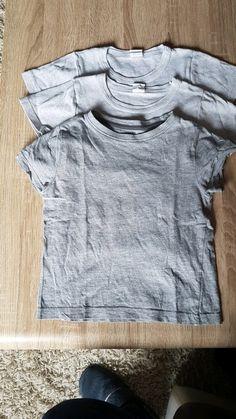 Lot de 3 T-shirts garçon gris taille 4 ans T Shirt, Gray, Supreme T Shirt, Tee Shirt, Tee