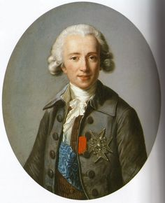 The Athenaeum -  Count Vaudreuil Élisabeth Vigée-Lebrun - 1784 Painting - oil on canvas