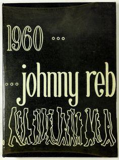 1960 SOUTH HIGH SCHOOL Denver Colorado Yearbook Annual Johnny Reb