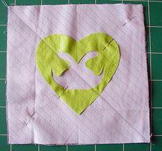 Les coeurs : la chenille - Le blog de Vick/ patchwork -broderie-cuisine/tutos et recettes