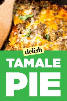This Tamale Pie Is The Easiest Way To Get Your Tamale Fix | It's all about the skillet cornbread crust.