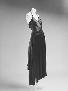 Day 12 - 1917 - Madeleine Vionnet Evening dress  Because she was way ahead of her time and STILL doesn't get enough credit.  25 points to stick it to the misogynistic designer world.