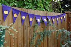 Rapunzel banner for fence