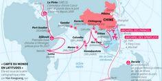 Révolutionnaire, cette vision de la planète, qui brise la représentation occidentale, a été adoptée par la défense nationale chinoise.