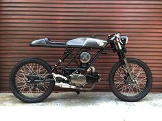 honda win100 cafe racer classic custom by sleeping engine idiot garage