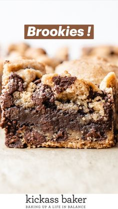 Brownie Desserts, Vegan Desserts, Fun Desserts, Delicious Desserts, Yummy Food, Healthy Food, Fun Baking Recipes, Cookie Recipes, Bar Recipes