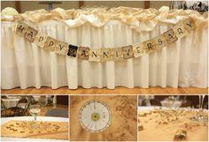 50th Wedding Anniversary Decorations 3 1024x700 50th Wedding Anniversary Decorations: The Inspiring Ideas