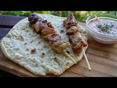 Πίτα για σουβλάκι (Πολυζύμη) - Pita Gyros - Souvlaki - YouTube Pastry Design, Greek Cooking, Tzatziki Sauce, Greek Recipes, Make It Simple, Snacks, Dishes, Ethnic Recipes, Food