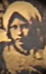 SANTA MARÍA GORETTI , es la única foto que se conoce de la pequeña Santa. Prefirió morir, antes que perder su virginidad.